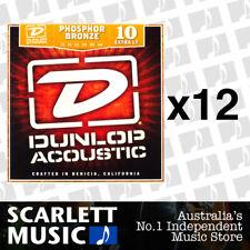 Dunlop Acoustic Guitar Strings - Phosphor Bronze - 10-48