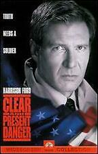 CLEAR AND PRESENT DANGER WIDESCREEN DVD-*DISC ONLY*WITH TRACKING