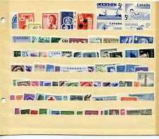LOT 66418 CANADA  MINT NH CANADIAN STAMP  COLLECTION FROM THE 1950'S
