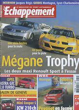 ECHAPPEMENT n°452 04/2005 Mégane Trophy, Opel Astra GTC, Mini Cooper S JCW, C2