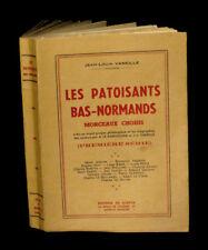 BASSE-NORMANDIE CALVADOS ORNE MANCHE PATOIS VANEILLE Les Patoisants bas-normands
