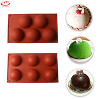 Half Ball Silicone Cupcake Mold Muffin Chocolate Cake Cookie Baking Mould Pan
