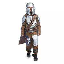 Disney Store Star Wars The Mandalorian Costume Outfit Set Boys Size 4 XS