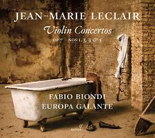 Jean-Marie Leclair: Violin Concertos, Op. 7, Nos. 1, 3-5, New Music