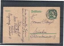 Nicht bestimmte Briefmarken aus dem deutschen Reich (1924-1932) mit Ganzsache