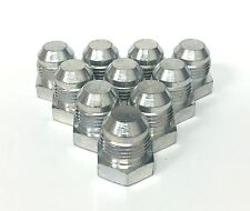 "1/4"" -4 JIC PLUG (10) pcs HYDRAULIC ADAPTER FITTING"