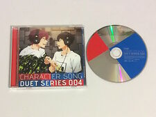 FREE IWATOBI SWIM TEAM, CHARACTER SONG DUET SERIES 004 CD W/ CASE, RIN & HARUKA