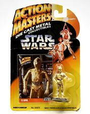 Star Wars Action Masters Die Cast Metal Collectibles - C-3PO Figurine