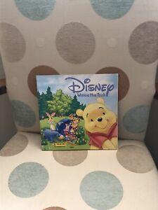 Panini Disney Winnie the Pooh Sticker Album Complete VGC