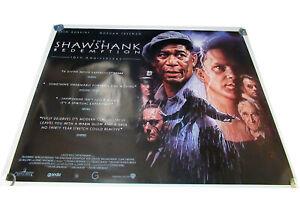 The Shawshank Redemption movie UK quad poster ORIGINAL D/S Drew Struzan