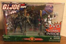 Ninja Battles Action Figure Set G.I. Joe Real American Hero DVD 2004 Hasbro
