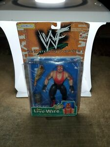 Vader Live Wire WWF WWE WCW wrestling action figure In damage Packaging Rare New