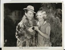1930 pre code 8x10 photo for maybe its love with joe.e.brown and joan bennett