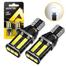 Auxito Canbus 921 912 T15 W16w Led Bulb Backup Reverse Light Xenon White 6000k