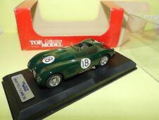 JAGUAR TYPE C N°18 LE MANS 1953 TOP MODEL TMC030 1:43 Arrivée 1èr