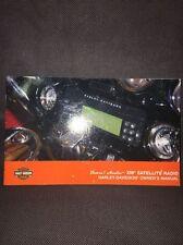 HARLEY-DAVIDSON BOOM AUDIO SOUND SYSTEM & XM SATELLITE RADIO MANUAL
