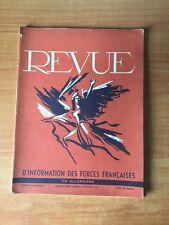 REVUE D'INFORMATION DES FORCES FRANCAISES EN ALLEMAGNE numéro 9