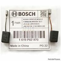 Original Bosch GWS 7-115 Carbon Brushes for Part 3 601 C88 171 - 1619P02870