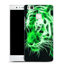 hard case cover for huawei p9 LITE -green tiger