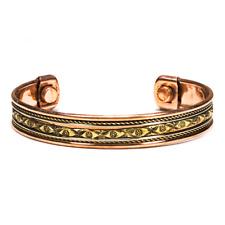 Bracelet en cuivre magnétique avec aimants
