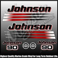 JOHNSON 90 hp - BOMBADIER - OUTBOARD DECALS