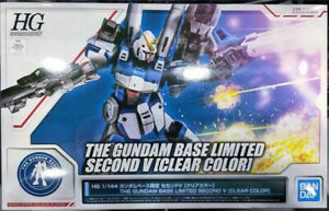 Bandai Gundam HGUC Second V Clear Color Base Limited 1/144 Model Kit