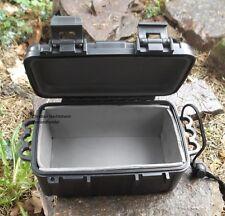 Kunststoff Box Plastikiste schwarz wasserdicht 17x11,5x8cm Behälter