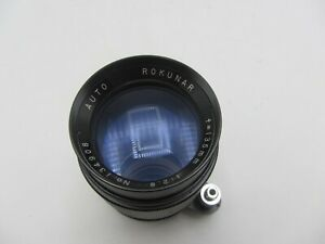 Auto Rokunar 135mm F2.8 Exakta KE Mount Lens For SLR/Mirrorless Cameras
