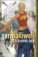 GERI HALLIWELL – IT'S RAINING MEN 2001 UK CASSINGLE CARD SLEEVE SLIP-CASE RARE