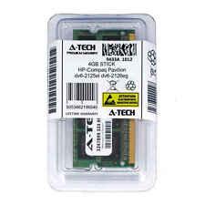 4GB SODIMM HP Compaq Pavilion dv6-2125el dv6-2126eg dv6-2130ed Ram Memory