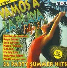Vamos a la playa 2-36 party summer hits (1997) Maggie reilly, sqeezer [double CD]