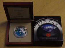 2003 Canada $20  Silver Coin Natural Wonders Rocky Mountains W/CAO and Case
