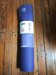 "MANDUKA ProLite Yoga and Pilates 4.7 mm Mat - Purple 71"" x 24"" New"