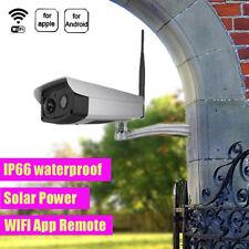 TELECAMERA IP WIFI + PANNELLI SOLARI ESTERNO 1080P NIGHT VISION HD IMPERMEABILE