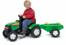 Falk Farmer Tractor and Trailer Ride On