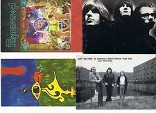 Lot de cartes postales groupes prog anglais, allemands, belges,  hollandais