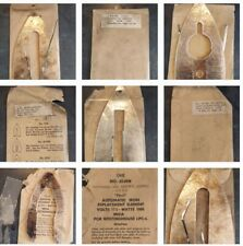Lot of 6 ANTIQUE VINTAGE IRON Elements - New Old Stock - westinghouse