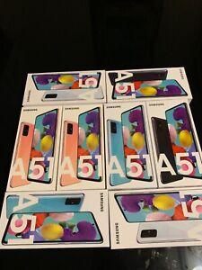 Samsung Galaxy A51 A515 6GB/128GB Dual Sim - Black,Blue and pink