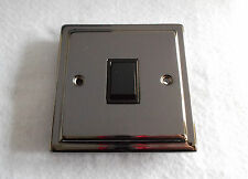 1 GANG 2 WAY SWITCH IN BLACK NICKEL FINISH CAN BE USED AS 1 WAY - H940046