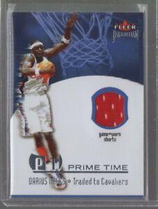 2002/03 Fleer Premium Prime Time Darius Miles Jsy
