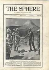 1900 Gen Buller And Christian Botha Under Shadow Of Majuba Hill