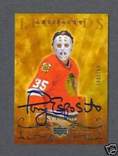 Tony Esposito signed 2006-07 Upper Deck Artifacts- rare