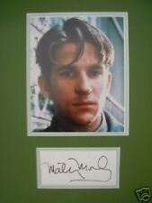 MATTHEW MODINE - FULL METAL JACKET ACTOR - SUPERB SIGNED COLOUR PHOTO DISPLAY