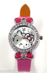 Girls Hello Kitty Wrist Watch