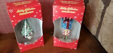 Two boxes of Christopher Radko Ornaments Target Holiday Celebration NIP - lot 2
