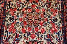 c1930s Antique Highly Detailed Persian Bijar Rug 2.6x3.4 Kork Wool_High Kpsi