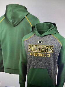 Green Bay Packers NFL Men's Fanatics Chiller Fleece Hoodie Size Medium - NWT