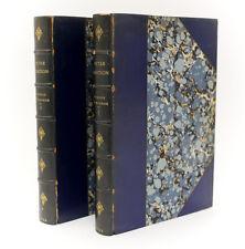 George Du Maurier 'Peter Ibbetson Vol 1 & 2'. James R. Osgood 1892 1st Edition