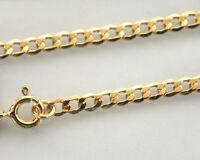 ECHT GOLD *** Panzer Armband Armkette 3 mm / 19  cm