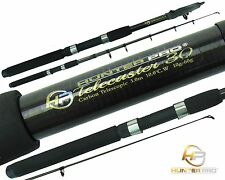Telescopic 10ft Fishing Rod Carbon Travel Stalking Pike Spinning Rod Hunter PRO